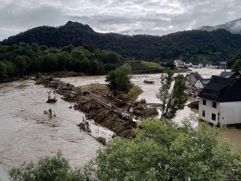 Inundaciones en Altenahr, Alemania, en 2021